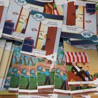 Activités sur les livres du rabbi dans toute l'école à l'occasion de הי טבת