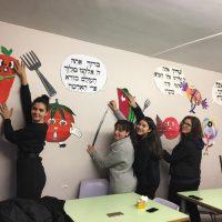 Projet du séminaire : décoration du réfectoire des garçons !
