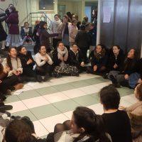 Seder à Nigounim du jeûne 10 Tevet à l'école