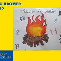 Panneaux Lag Baomer – Classe 4ème B