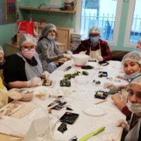 Atelier Sushis en Classe Ulis Filles