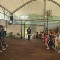 Birkat Habanot par M.Thomas, le Directeur de l'école